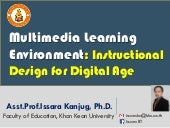 Multimedia learning environment