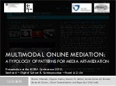 Multimodal Online Mediation. A Typo...