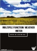 Multiple Function Weather Meter by ACMAS Technologies Pvt Ltd.