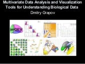 Multivariate data analysis and visu...