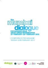 Mumbai Dialogue Conference Programm...