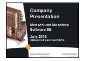 Mensch & Maschine Software SE video