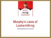 Murphys Laws of Locksmithing