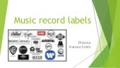 Music record labels 2 powerpoint