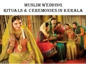 Muslim Wedding Rituals & Ceremonies...