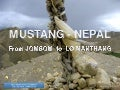 Mustang - NEPAL  (Jomsom - Lo Manthang)