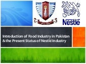 Introduction of food industry in pa...