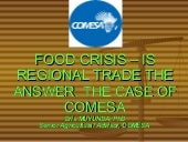 Food Crisis - Is Regional Trade the...