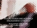 Digital design and audience engagement strategy