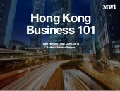 Hong Kong Business 101
