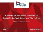 Marketwired - NIRI: Social Media, Wall Street, and What's Next