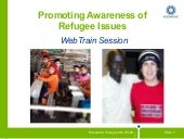 Raising Awareness about Refugees