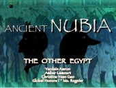Nubia: The Other Egypt