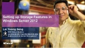 Setting up Storage Features in Windows Server 2012