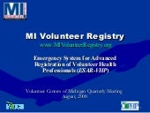My Volunteer Registry