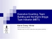 Myers Briggs Team Building And Exec...