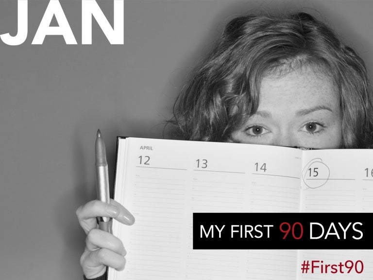 My #First90 Days: How to Rock Your New Job