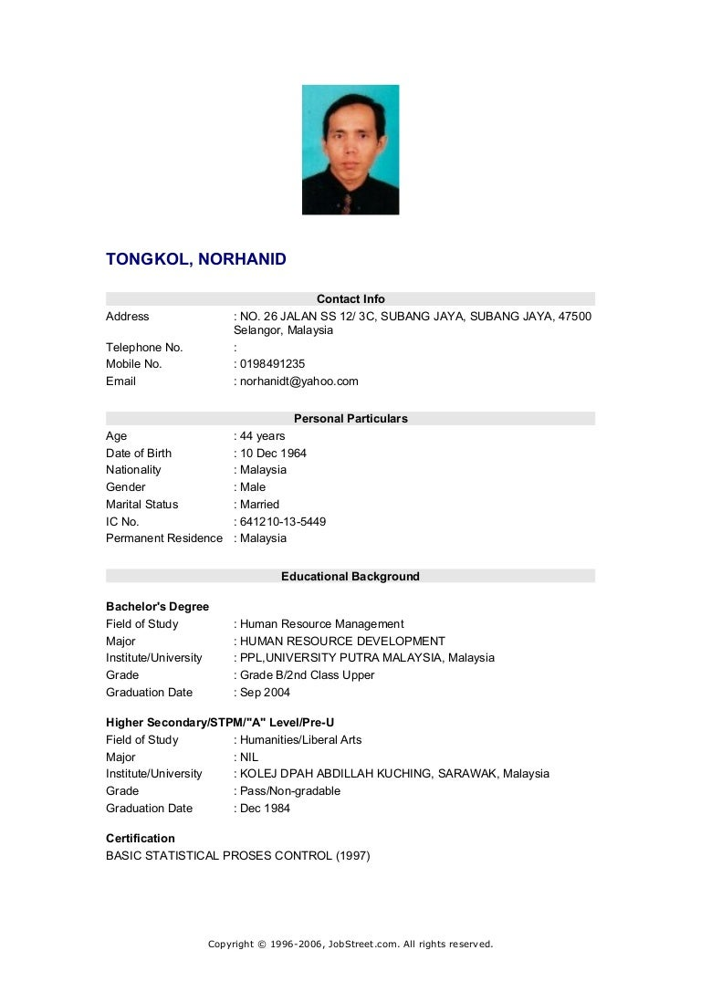 Example Of Resume For Accounting Fresh Graduate Best Resume Examples