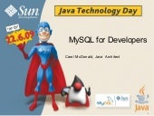 Mysql For Developers