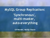 MySQL Group Replication