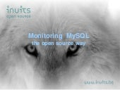 MySQL Monitoring Shoot Out