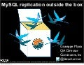 Mysql replication outside the box