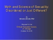Myth and science of sexuality short