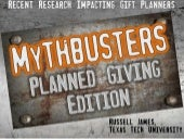 Planned Giving Myths