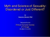 Myth & Science of Sexuality