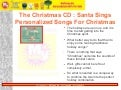 The Christmas CD : Santa Sings Personalized Songs For Christmas :: MyTunez.biz