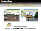myVR 3D StreetView Technology
