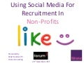 Using Social Media For Recruiting In Non-Profits
