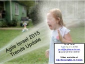Agile Israel 2015 Trends Update