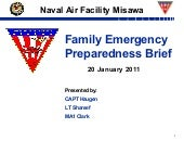 NAF Misawa Family Emergency Managem...