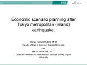 Economic scenario planning after To...