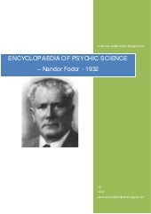 Nandor Fodor , Encyclopaedia of Psy...