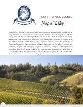 Napa Valley - Guild of Sommeliers