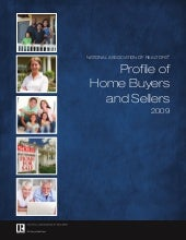 Nar 2009 Home Buyers And Sellers