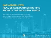 NAR Annual 2015: Real Estate Marketing Tips from 12 Top Industry Minds