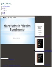 Narcissistic victim syndrome   the ...