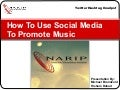 How To Use Social Media To Promote Music