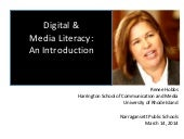 Introduction to Digital and Media L...
