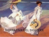 Narrativa siglo xx