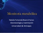 Monitoria Metabolica