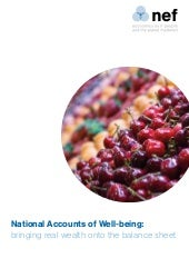 National Accounts of Well-being