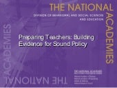 Preparing Teachers: Building Eviden...