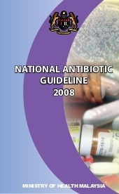 National antibiotic guideline 2008