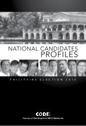 National candidates profiles