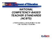 National Competency Based Teachers ...