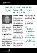 How Hospitals Can Tackle Injury Claims Recoveries and ICD-10 - Brad Williams, RevClaims